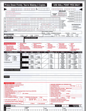 Prehospital Care Reports | emstar.org on free basic employment application, employment application form, free printable basic receipt, standard job application printable form, free job application form pdf, generic job application form,